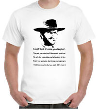 Clint Eastwood T-Shirt Cowboy Western Spaghetti mule quote
