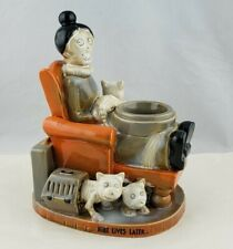 Yankee Candle Halloween Boney Bunch Cat Lady Candleholder