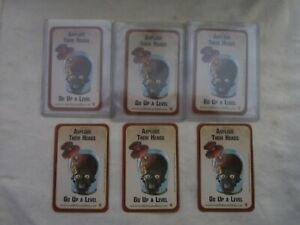 Lot of 6 - 2013 Mars Attacks Invasion Asplode Their Heads / Go Up a Level