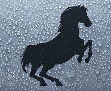 Vinyl 'Rearing horse' #1 (sml) decal car bike window sticker graphic - DEC1068