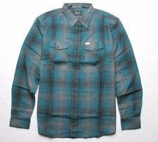 MATIX Scheme Flannel Shirt (L) Blue