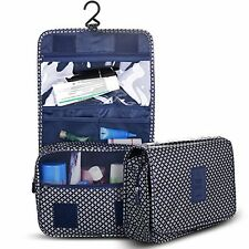 Travel Toiletry Bag Packing Organizer for Women Cosmetic & Men Shaving kits