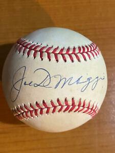 Joe DiMaggio - Signed/Autographed Rawlings OAL Baseball - JSA