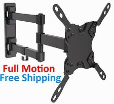 Flat Screen Full Motion Smart Tv Wall Mount Articulating LED LCD 19 22 28 32""