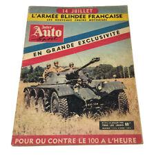 Revue Inter Auto Sport No 413 / 14 juillet 1955 / Gordini / Engins de l'armée