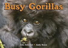 Busy Gorillas by John Schindel c2010, New Board Book, We Combine Shipping
