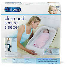 The First Years Close & Secure Sleeper (Grey) To Keep Your Baby Snug and Secure