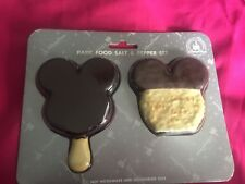 New Disney Parks Mickey Mouse Ice Cream Bar & Rice Treat Salt & Pepper Shakers