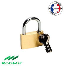Cadenas acier Cadenas en acier haute sécurité avec 3 clés haute sécurité