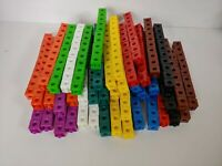 Hex-A-Link Linking Counting Cubes Snap Blocks Manipulatives Math Homeschool