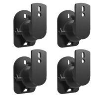 4PCS Speaker Wall Bracket Top Quality Speaker Holder Speaker Wall Mount for Wall