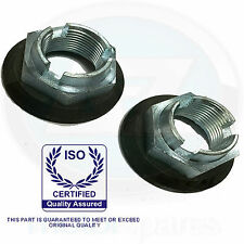 Ford Cougar Fiesta Focus Fusion Mondeo Jaguar X-type Front wheel hub nuts pair