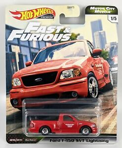 Ford F-150 SVT Lightning > Red > Hot Wheels Fast & Furious > 2020 > New