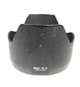 Genuine Nikon HB-19 Lens Hood Shade for AF-S Zoom-Nikkor 28-70mm f/2.8D IF-ED