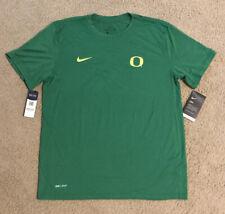 Nike Dri-Fit University of Oregon Green Shirt Mens L NWT