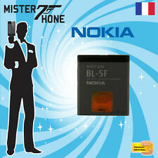 GENUINE BATTERY NOKIA BL5F BL-5F 6260 E65 N93i N95 N96 X5-01 950mAh BATTERIE