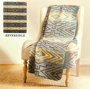Pendleton Home Collection Classic Jacquard Throw Reversible Sunset Cross