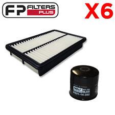 6 x WCO170 + WA5247 Wesfil Air & Oil Filter Kit - Mazda 3, CX5, CX-5