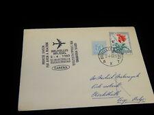 Vintage Cover,BRUSSELS,BELGIUM,Multi-Franked FFC To Elizabethville,Belgian Congo