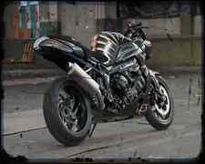 BMW K1200R se 2 A4 Foto Impresión moto antigua añejada De