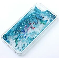 For iPhone 6 / 6S - HARD CASE COVER Waterfall Liquid Glitter Sparkle B