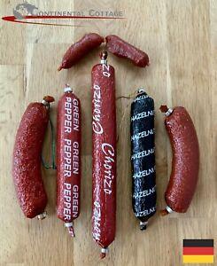 £10 German Salami Mix,  Bavaria, German Sausages, Mix of 6