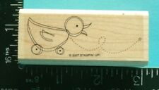 Baby Duck / Chick Toy Rubber Stamp by Stampin Up
