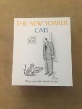 New Yorker Cat Notecards. Set Of 20