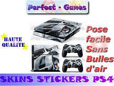 Skin sticker auto-collant vinyl cars voiture sport pour console SONY PS4