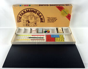 Vintage 1979 The Farming Game by The Weekend Farmer Company - Board