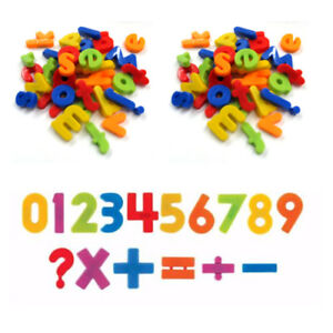Fridge Magnets Alphabet Numbers Strong Magnets Magnetic Baby Letters 4cm Large