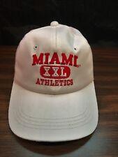 VTG The Game 1995 Miami Ohio University Redskins XXL Athletics Snapback Hat VGC