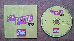 Sex Pistols Live  CD Audio Soundtrack Released by the Daily Star