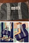 DSW Shoes  ~Exclusive Duffel Blue/Black Bag~ New & Sealed