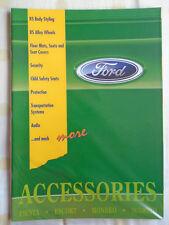 Ford Accessories range brochure c1996 ref FD 2650