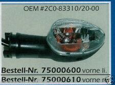 Yamaha YZF 600 R6 KLARGLAS - Lampeggiante - 75000600