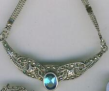"""16 - 17.99"""" Marcasite Fine Necklaces & Pendants"""