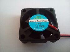 FAN Lüfter 24V 30x30x10mm 0,1A auch für 3D Drucker RepRap. Versand gleicher Tag