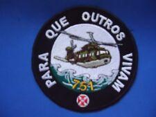PORTUGAL AIR FORCE FORÇA AEREA HELI HELICOPTEROS 751 PARA QUE OUTROS PATCH 95mm