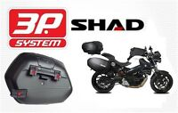 Support valises latérales SHAD 3P SYSTEM BMW F800 R-S 09 à 14 NEUF new fittings