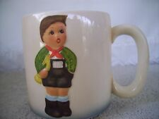 "Schmid ""Hark the Herald"" 1984 First Annual Statuette Mug Inspired By Hummell"