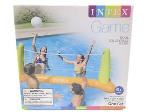 Intex Inflatable Pool Volleyball Game Set - Repair Patch Included - Age 6+ Toy