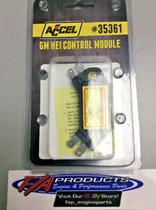 GM HEI 4 Pin High Performance Ignition Control Module Accel 35361 SBC Chevy