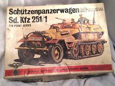 Schutzenpanwa -1/48 Scale WWII German Panzertruppe Series No.2 by BANDAI