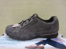 New Skechers Womens Bikers CURBED Size 7 Wide Width Shoes Chocolate 49336W/CHOC