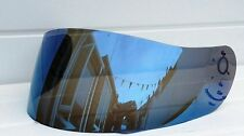 Aftermarket Lazer Fibre Pro Blue mirror Visor Shield