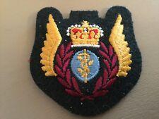 Royal Canadian Air Force Flight Surgeon Wings Cloth Badge
