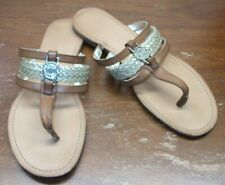 TOMMY HILFIGER THONG SANDALS.......SIZE: 9 M.......EXCELLENT CONDITION