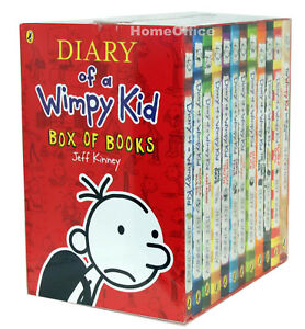 Diary of a Wimpy Kid Box Set Bookset Collection - 12 Books New