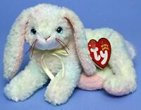 "TY Beanie Baby COTTONBALL the Bunny 7""...NEW"